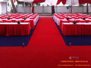 Ứng dụng của thảm đỏ sự kiện