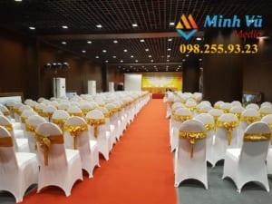 Cho thuê bàn ghế hội nghị - Hội thảo - Tổ chức sự kiện chuyên nghiệp