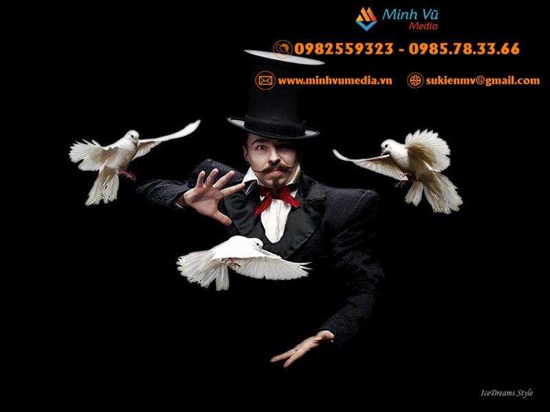 Cho Thuê ảo thuật gia biểu diễn tại Hà Nội