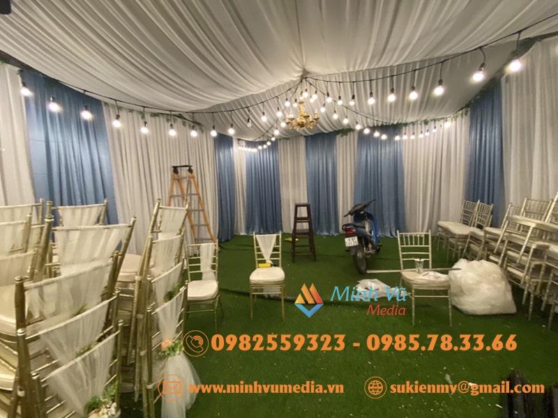 Cho thuê bóng đèn điện trang trí đám cưới