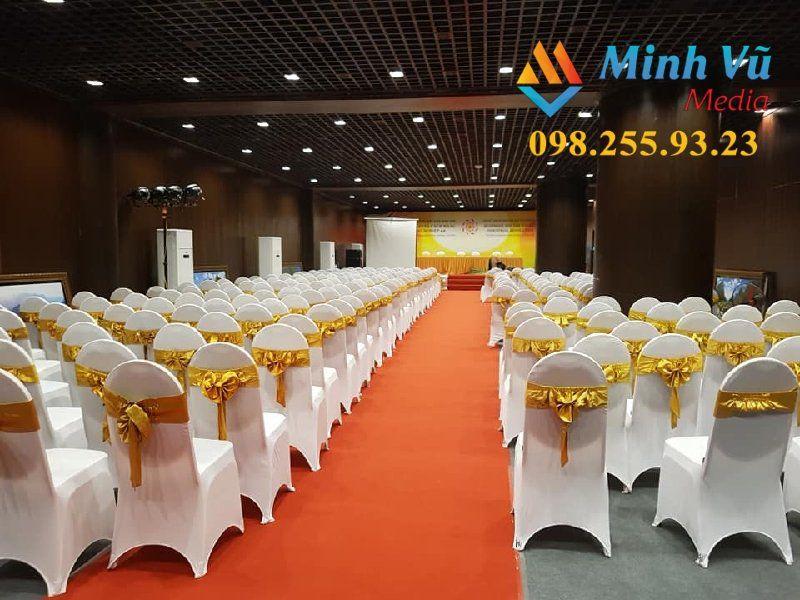 Lựa chọn ghế Banquet cho các sự kiện thêm sang trọng