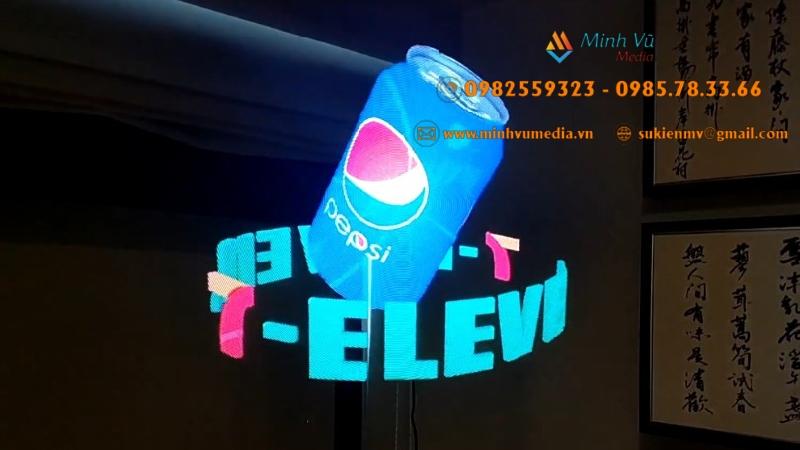 Minh Vũ Media cho thuê quạt đèn led 3D giá rẻ