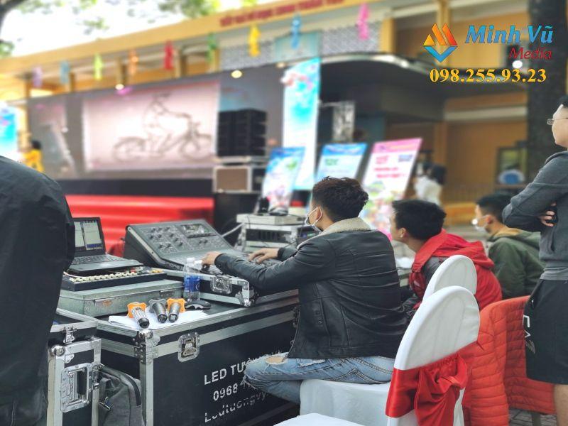 Chi tiết các hạng mục thiết bị dụng cụ được Minh Vũ Media cho thuê