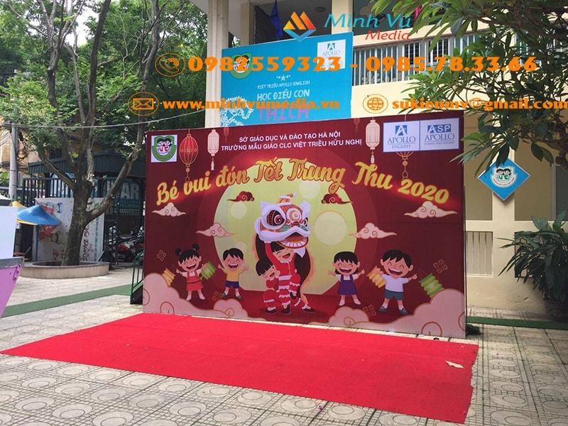 Minh Vũ media thuê backdrop giá rẻ