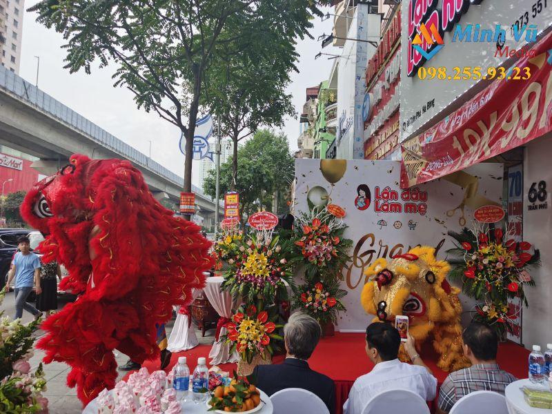 Lễ khai trương cửa hàng do Minh Vũ Media thực hiện