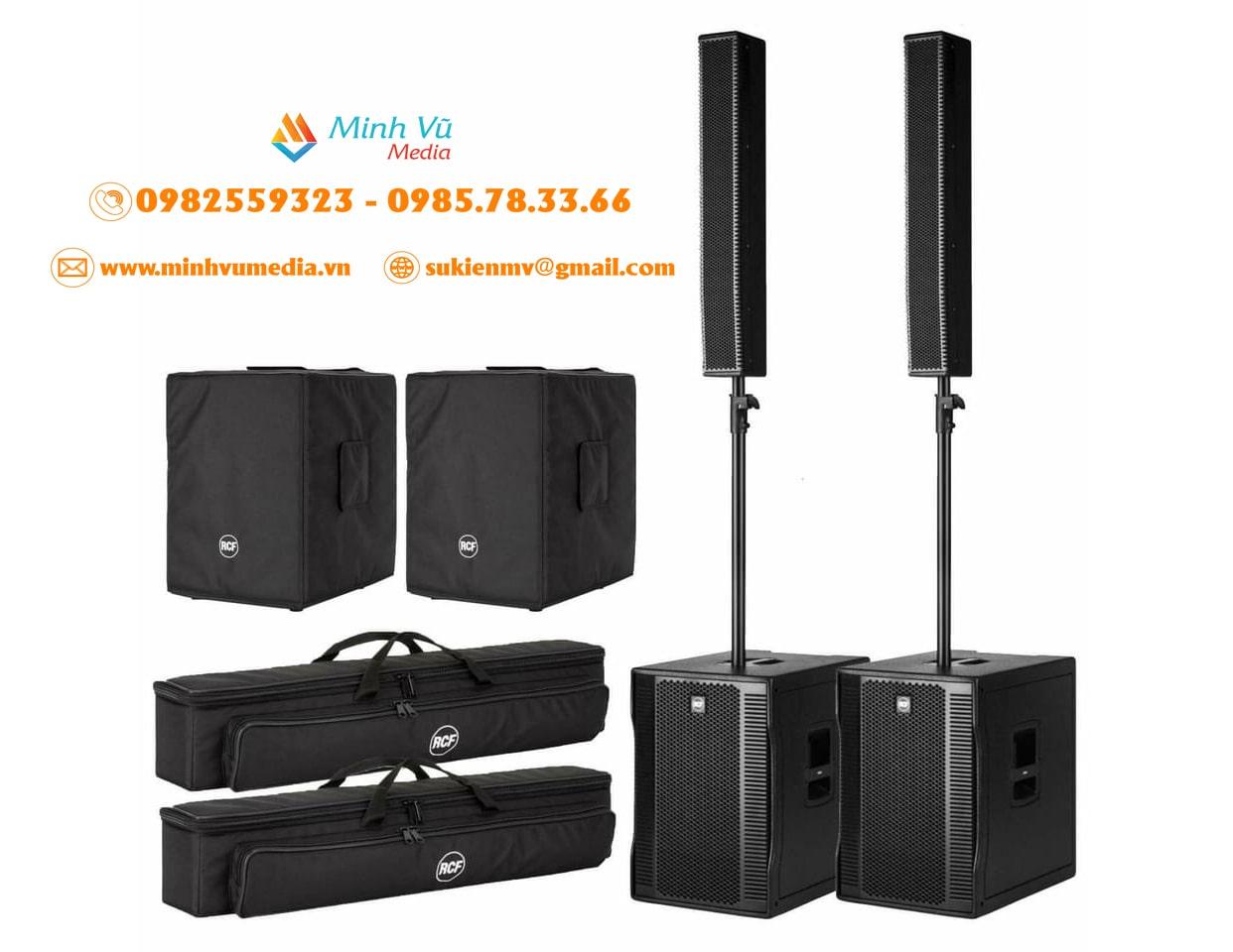 Cho thuê bộ loa RCF Evox 12 nhập khẩu âm thanh đỉnh cao