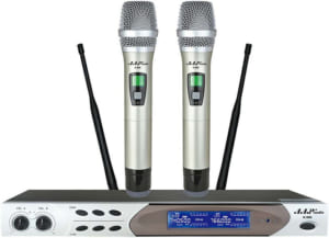 Micro không dây thiết bị trong dàn cho thuê karaoke