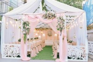 Cho thuê khung rạp cưới đẹp