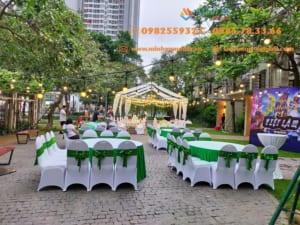 Cho thuê bàn ghế giá rẻ - Sạch đẹp - Vận chuyển nhanh tại Hà Nội