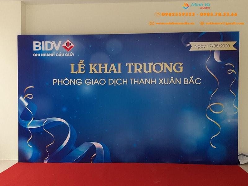 Cho Thuê Khung Backdrop Khai Trương