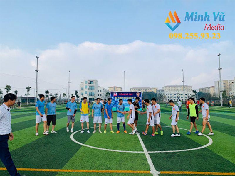 Minh Vũ Media sẽ hỗ trợ tìm sân thi đấu chất lượng có giá tốt