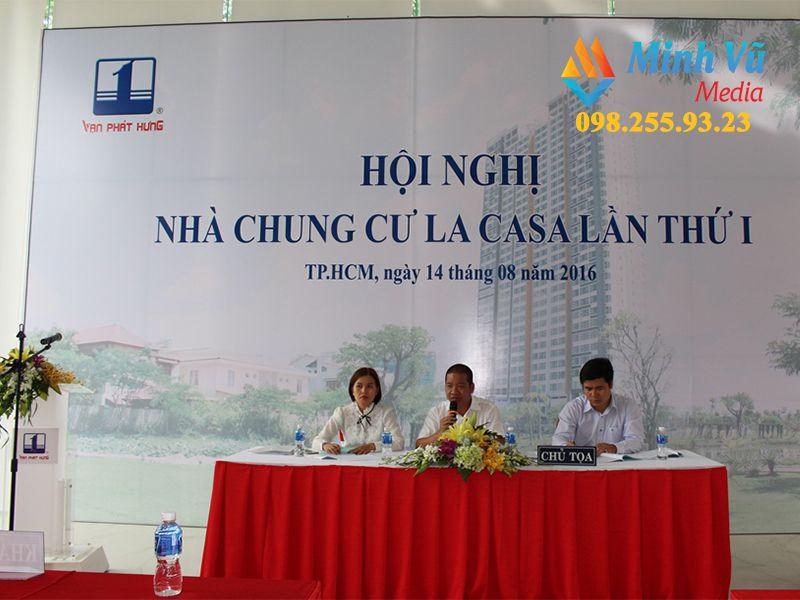Đơn vị tổ chức hội nghị nhà chung cư tại Hà Nội