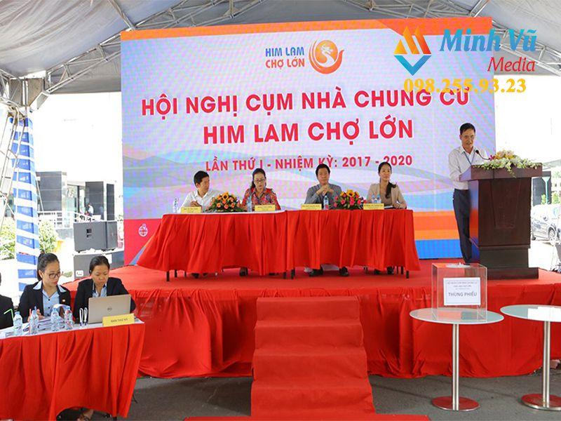 Minh Vũ Media cho thuê các thiết bị sự kiện trọn gói