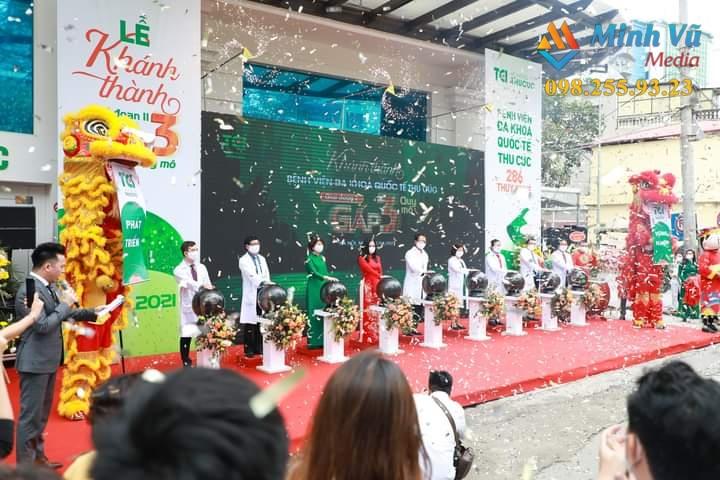 Minh Vũ tổ chức lễ khánh thành trọn gói