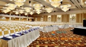 Tổ chức sự kiện trong khách sạn quy mô lớn