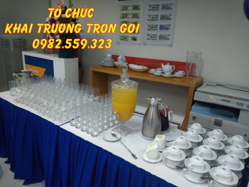 Minh Vũ Media chuyên cho thuê các dụng cụ tiệc teabreak
