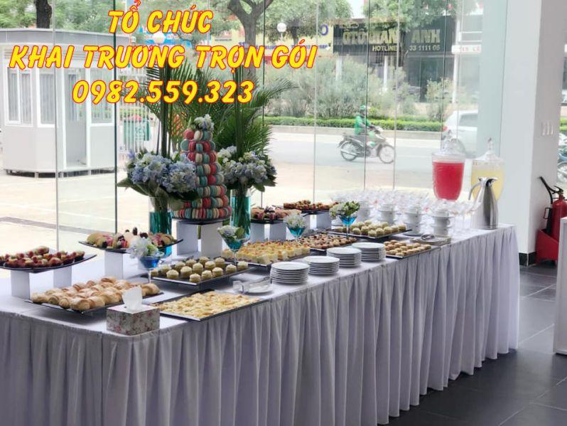 Tiệc teabreak cho tiệc sinh nhật