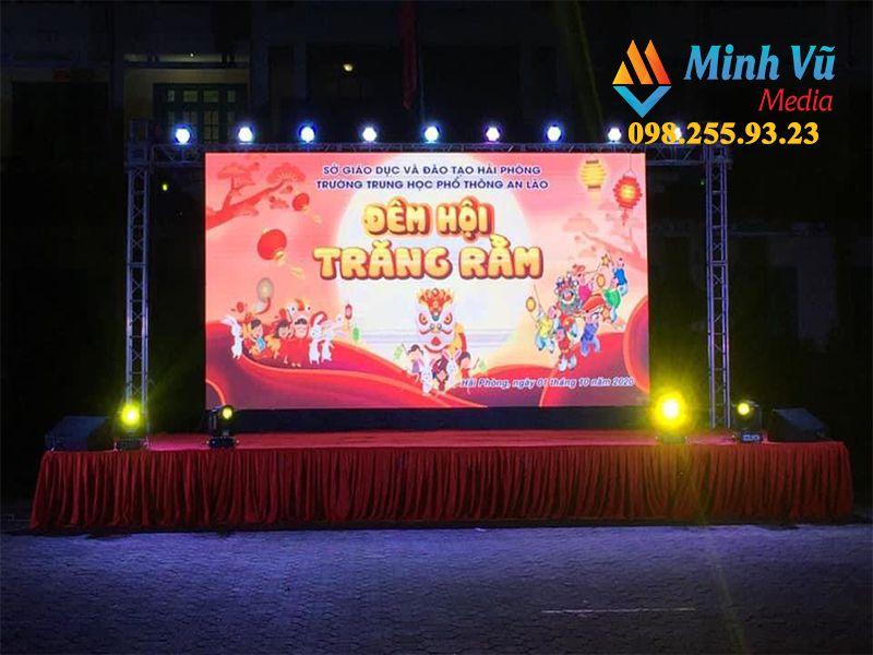 Sân khấu cho đêm hội trung thu