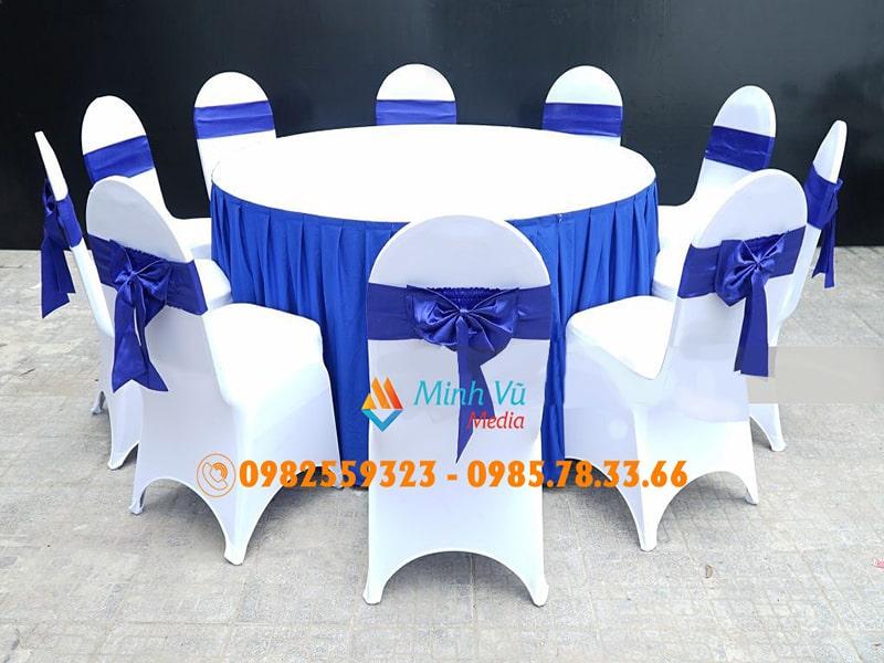 Cho thuê bàn tròn tiệc ngồi 10